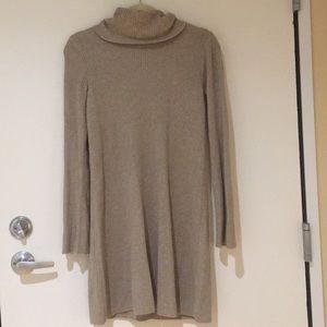 Madewell Bell Sleeve Turtleneck Dress